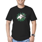 Merry Christmas Three Times O Men's Fitted T-Shirt