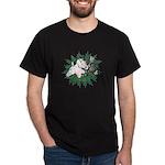 Merry Christmas Three Times O Dark T-Shirt