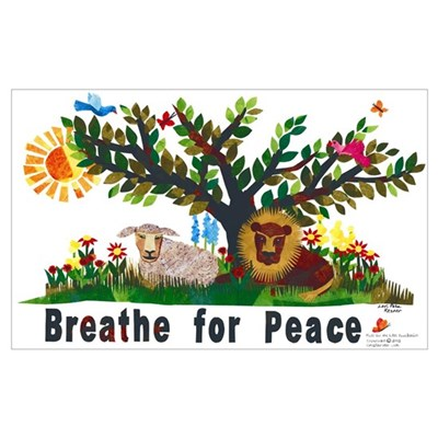 Breathe for Peace Canvas Art