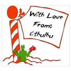 With Love From Cthulhu Poster