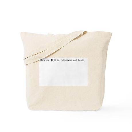 401K money Tote Bag