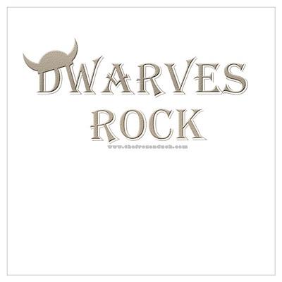 Dwarves Rock - Helm Poster