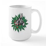 Donkey Christmas Large Mug