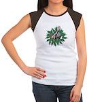 Donkey Christmas Women's Cap Sleeve T-Shirt