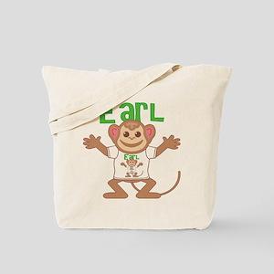 Little Monkey Earl Tote Bag