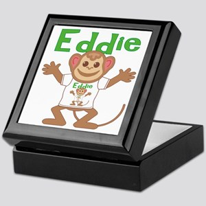 Little Monkey Eddie Keepsake Box