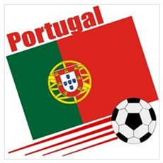 Portugal Soccer Team Framed Print