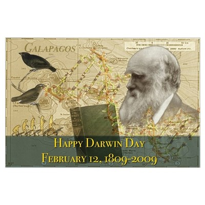 Darwin Day 2009 Poster