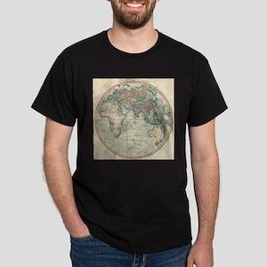 Vintage Map of The Eastern Hemisphere (180 T-Shirt