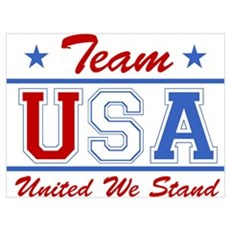 TEAM USA United We Stand Poster