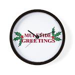 Mule Tide Wall Clock