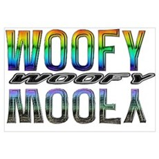 WOOFY-RAINBOW/MIRROR 2 Poster