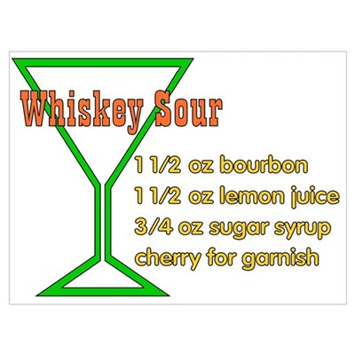 Whiskey Sour Poster