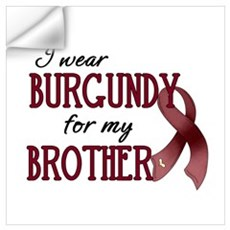 Wear Burgundy - Brother Wall Decal