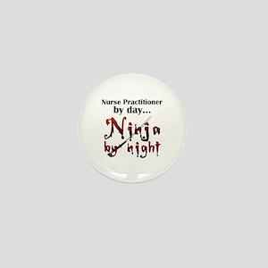 Nurse Practitioner Ninja Mini Button