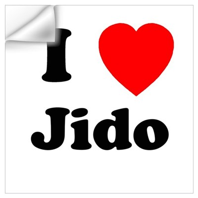 I heart Jido Wall Decal