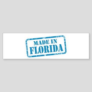 MADE IN FLORIDA Sticker (Bumper)