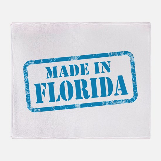 MADE IN FLORIDA Throw Blanket