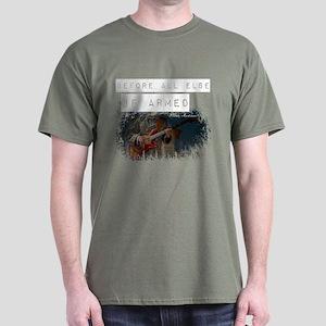 Soldier with Guitar Dark T-Shirt