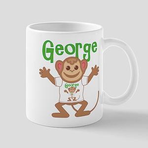 Little Monkey George Mug