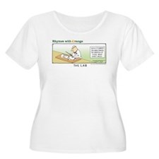 Sliced Bread Women's Plus Size Scoop Neck T-Shirt
