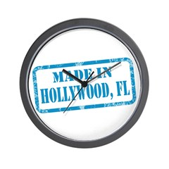 MADE IN HOLLYWOOD, FL Wall Clock