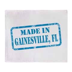 MADE IN GAINESVILLE, FL Throw Blanket