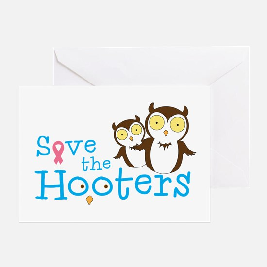 Save_the_Hooters Greeting Cards