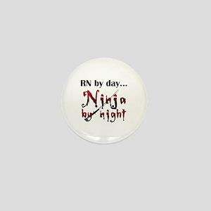 Nurse Ninja Mini Button