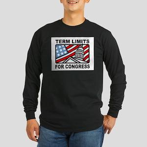 6 YEARS MAXIMUM Long Sleeve Dark T-Shirt