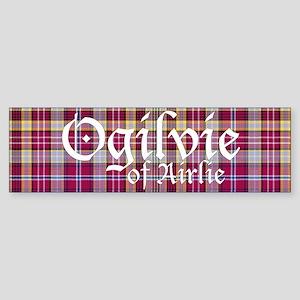 Tartan - Ogilvie of Airlie Sticker (Bumper)