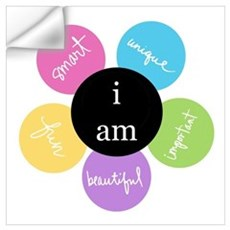 I am... Wall Decal