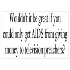 Television Preachers Poster