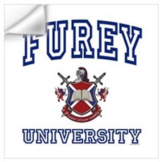 FUREY University Wall Decal