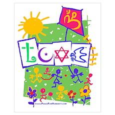 Kids LOVE Playground Poster