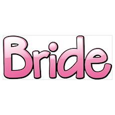 Pink Bride Poster