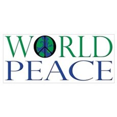World Peace Sign Poster