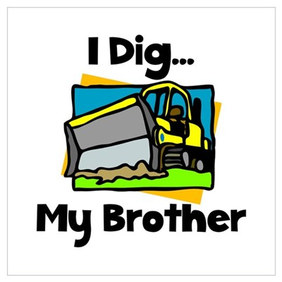 Dig Brother Canvas Art