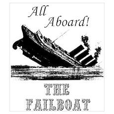 Legendary Failboat Poster