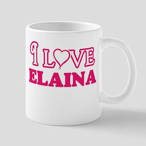 I Love Elaina Mugs