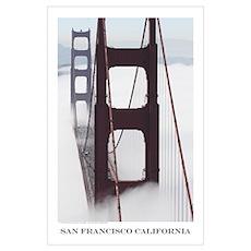 San Francisco Bay Photographs Poster