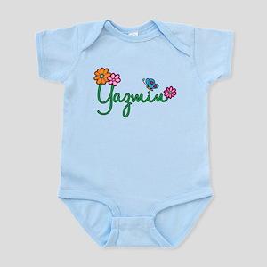 Yazmin Flowers Infant Bodysuit