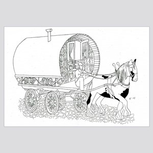 Gypsy Wagon Color Your Own