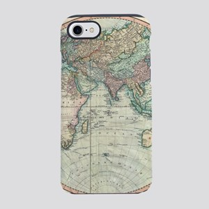 Vintage Map of The Eastern Hem iPhone 7 Tough Case