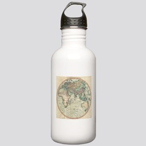 Vintage Map of The Eas Stainless Water Bottle 1.0L
