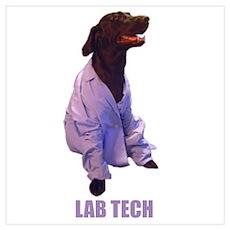 lab tech Poster
