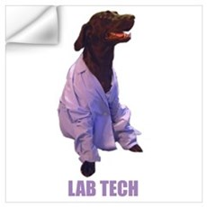 lab tech Wall Decal