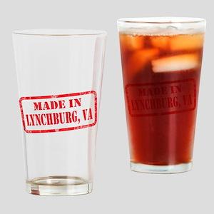 MADE IN LYNCHBURG, VA Drinking Glass