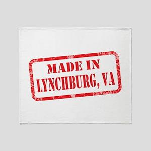 MADE IN LYNCHBURG, VA Throw Blanket