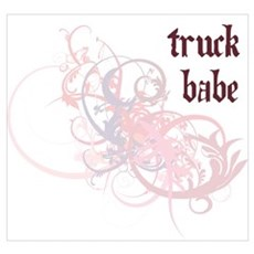Truck Babe Poster